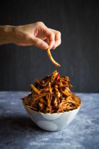 Kering Kentang Garing (Indonesian Spiced Crispy Fried Potatoes)