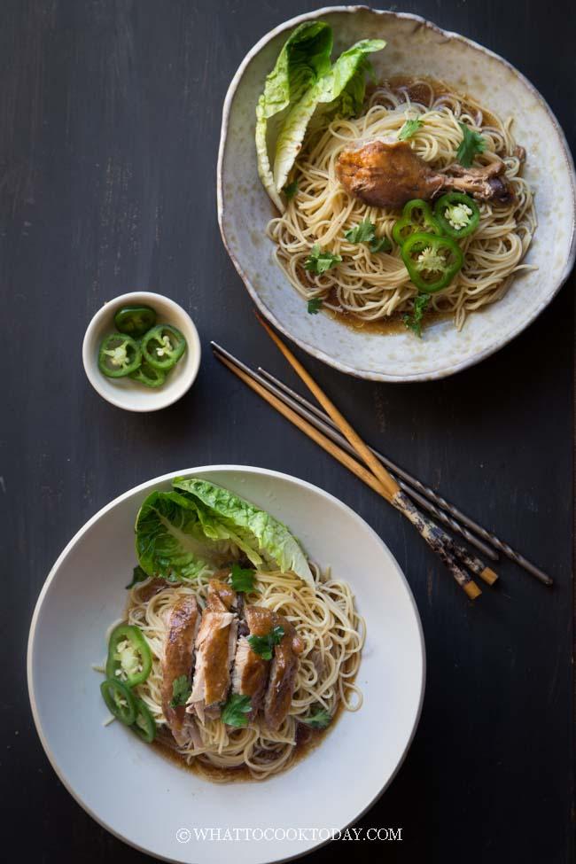 Soy Sauce Chicken Noodles (You Ji Mian)
