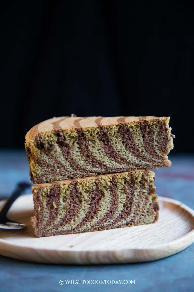 Soft Zebra Ogura Xiang Si Cake (Matcha Cocoa Flavor)