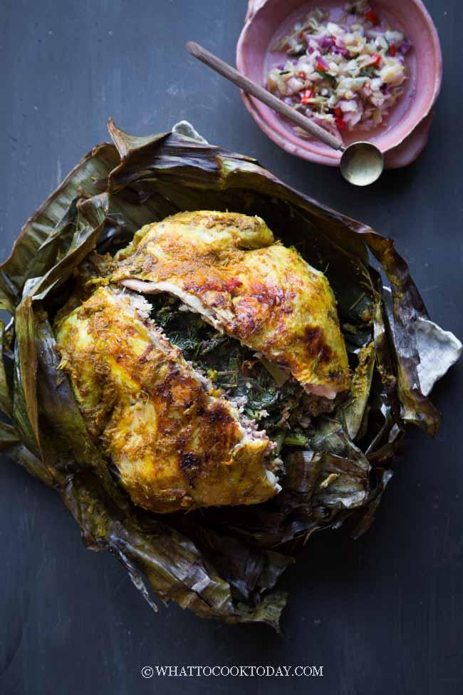 Ayam Betutu Bali (Balinese Spiced Chicken)