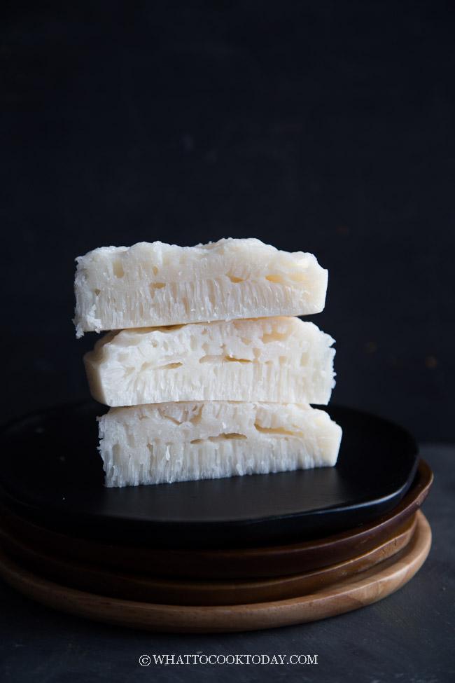 Bai Tang Gao (白糖糕) - Pak Thong Koh (Steamed White Sugar Cake)
