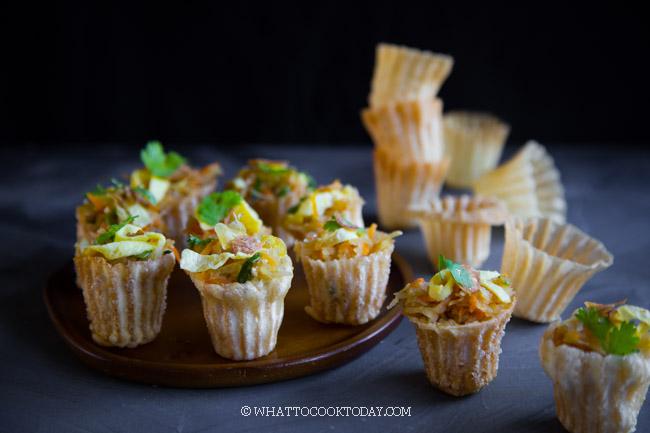 Kuih Pie Tee / Selat Popiah / Nyonya Top Hat