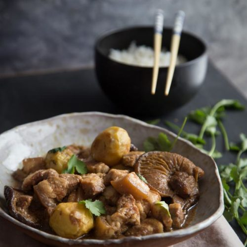 Pressure Cooker Tau Yu Bak (Braised Pork in Soy Sauce)