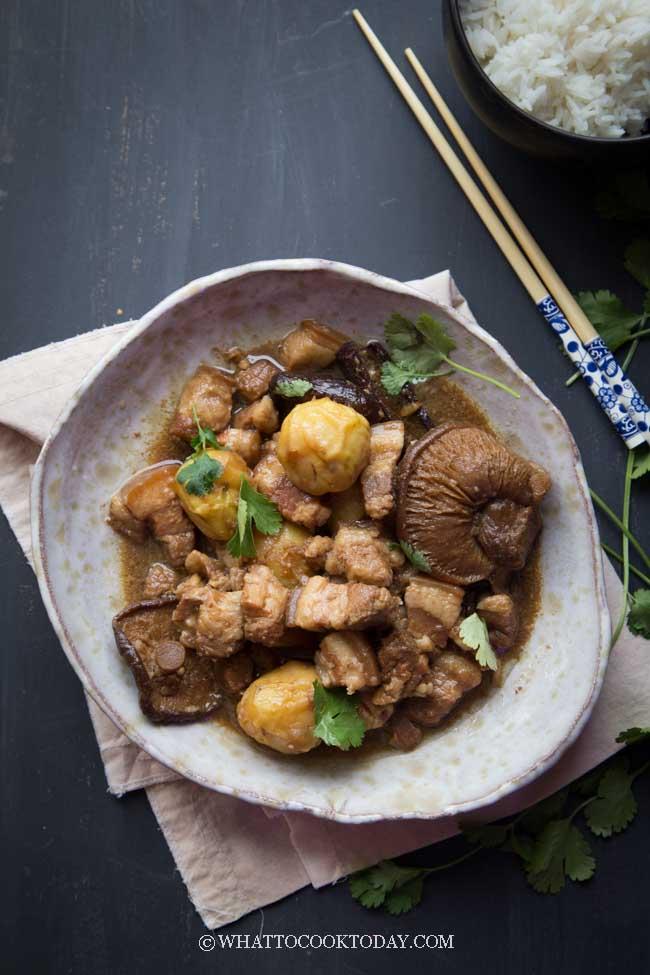Pressure Cooker Tau Yu Bak (Braised Pork in Soy Sauce)