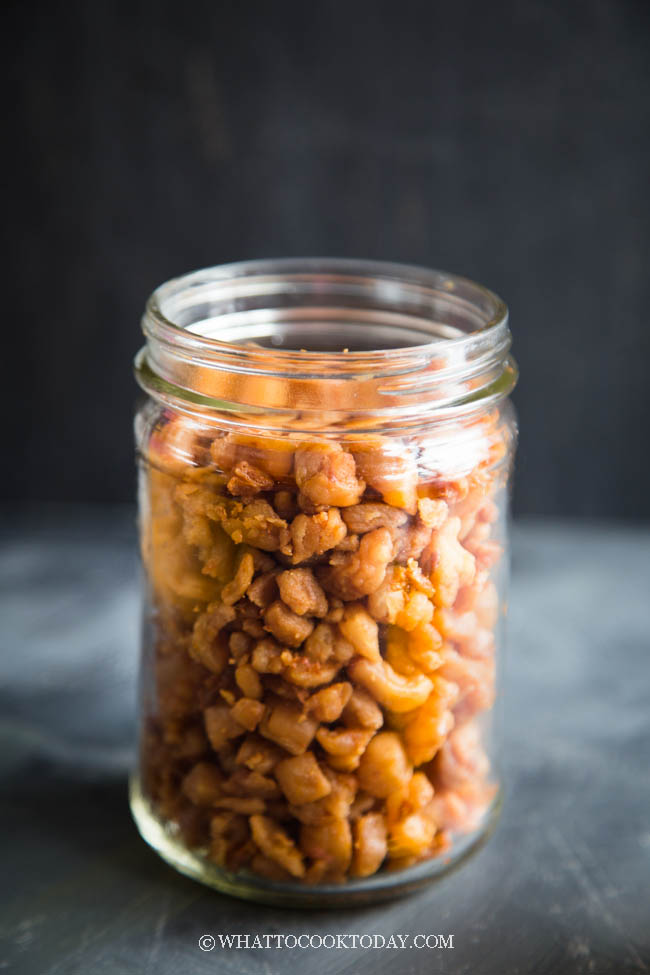 How To Render Lard and Get Crispy Fried Lard (Using Pork Fat)
