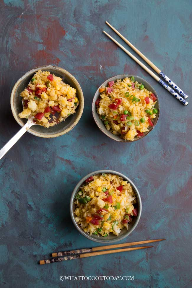 How To Make Chinese Golden Egg Fried Rice