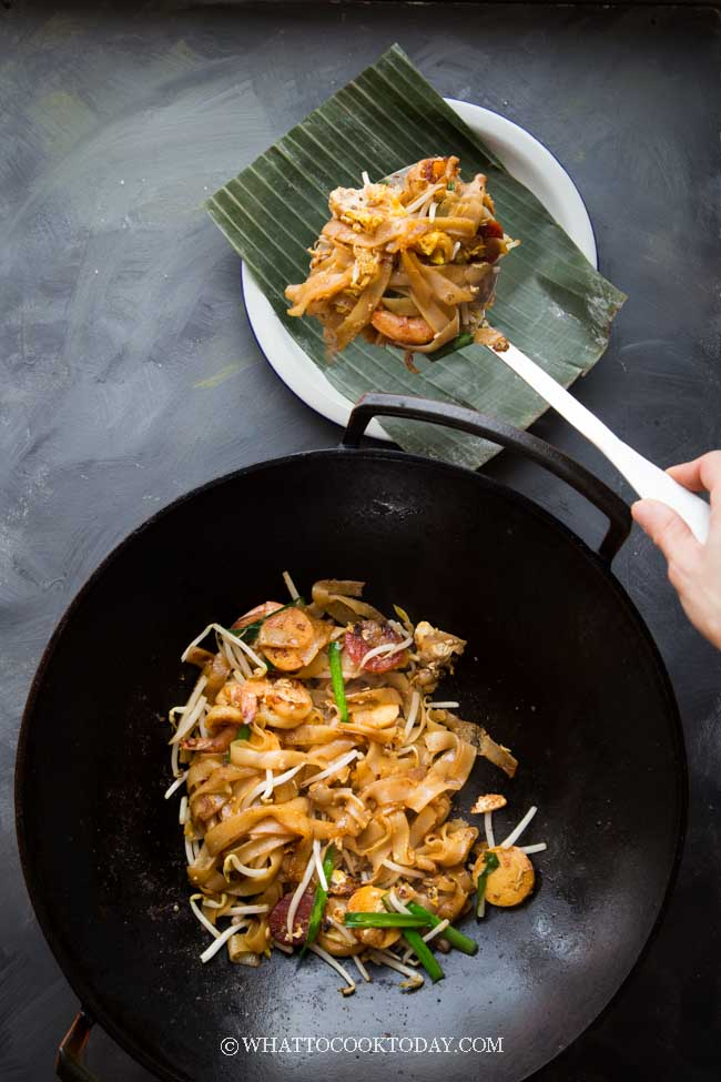 Penang Char Kway Teow (Stir-fried Flat Rice Noodles)