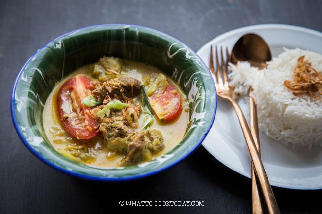 Tongseng Sapi (Javanese Sweet Soy Sauce Beef Stew)