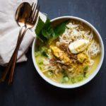 Laksa Ayam Betawi (Jakarta Coconut Chicken Soup)