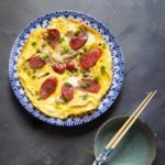 Easy Lap Cheong Omelette (Chinese Sausage Omelette)