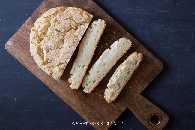 Easy No-Yeast Gluten-Free Artisan Mochi Bread