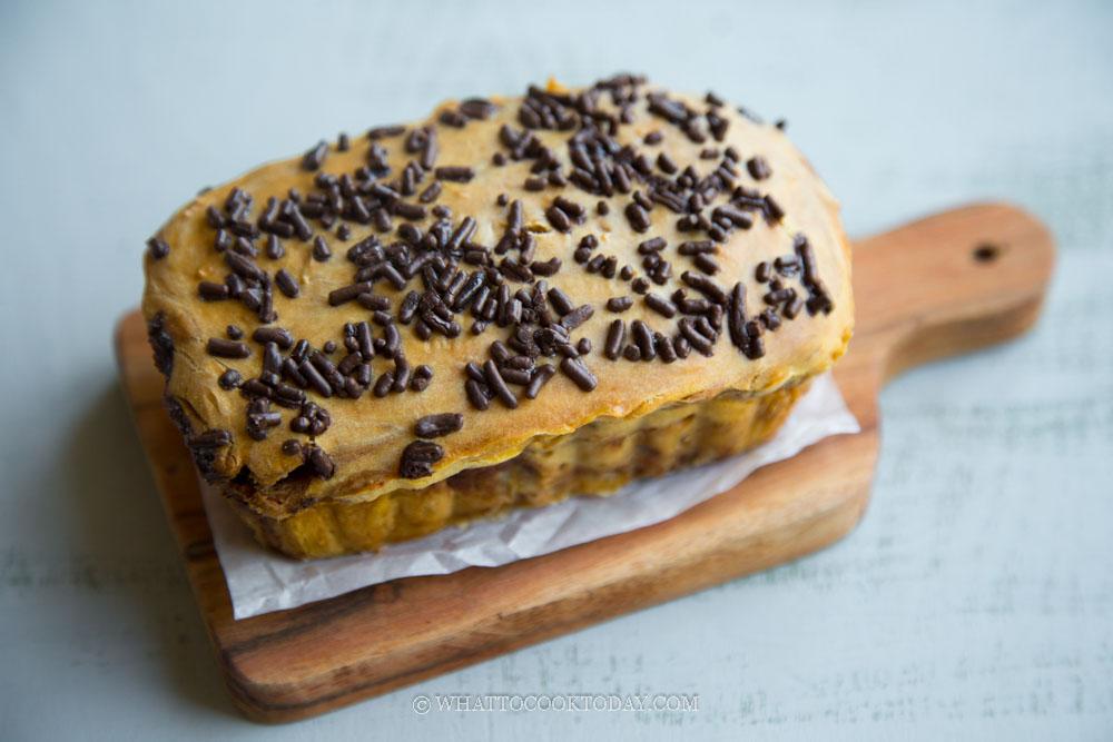 Easy No-Yeast Gluten-Free Chocolate Mochi Bread Loaf