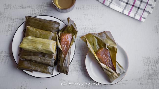 Kue Lemet /Ketimus Singkong (Steamed Cassava Cake)