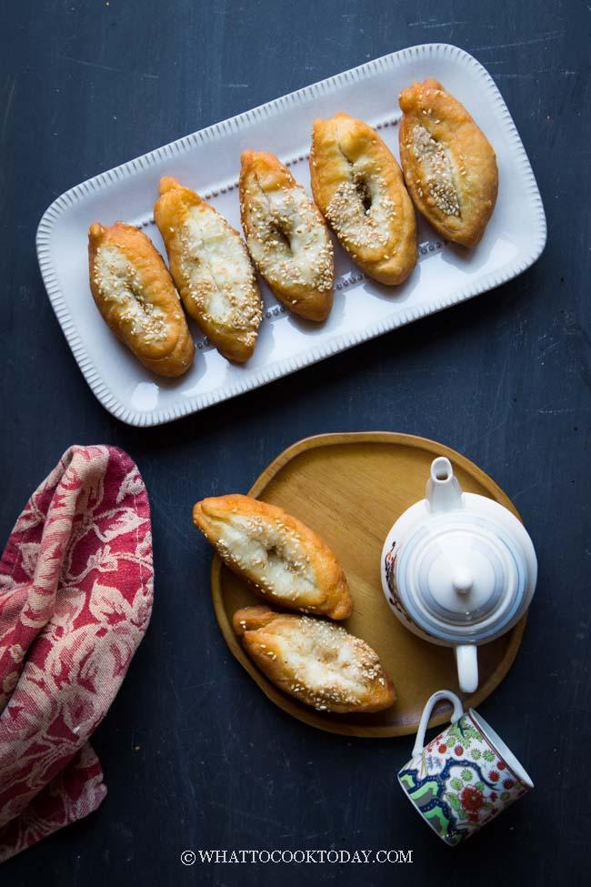 Cantonese Horseshoe Fritters (Ma Kiok)