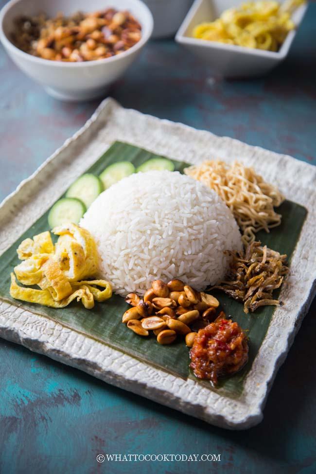 Easy Nasi Uduk Betawi (Indonesian Coconut Rice)