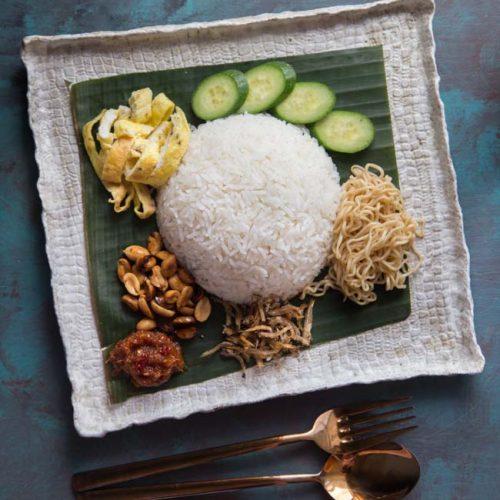 Easy Nasi Uduk Betawi Indonesian Coconut Rice