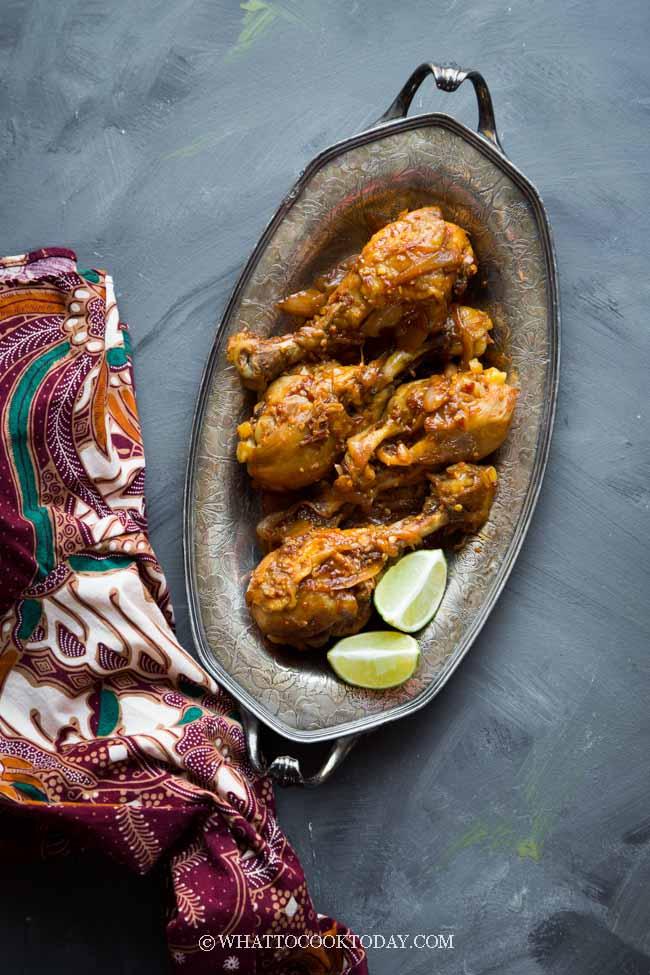 Ayam Masak Lombok (Spicy and Sweet Chicken)