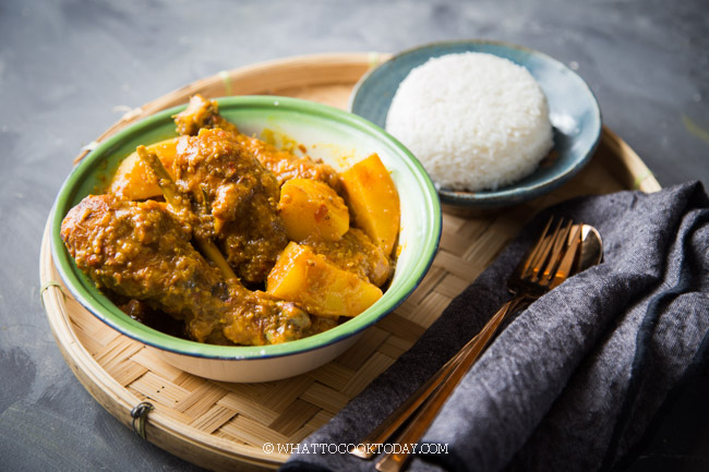 How To Cook Chicken Curry Kapitan (Nyonya Curry Chicken)