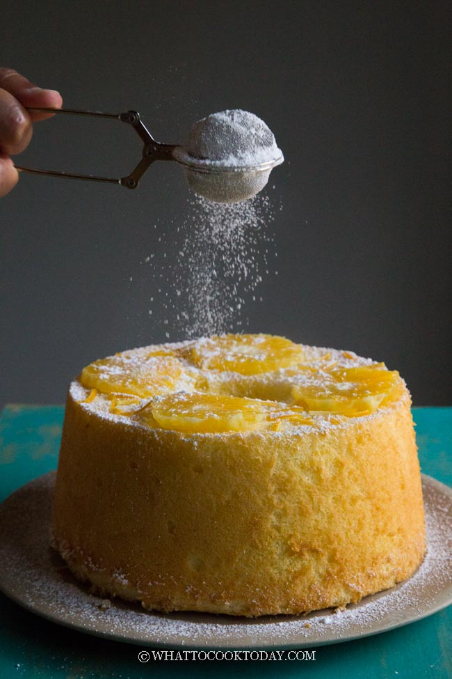 Soft and Fluffy Orange Chiffon Cake
