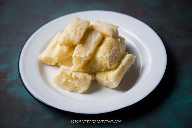 How To Make Tape/Tapai Singkong (Fermented Cassava)