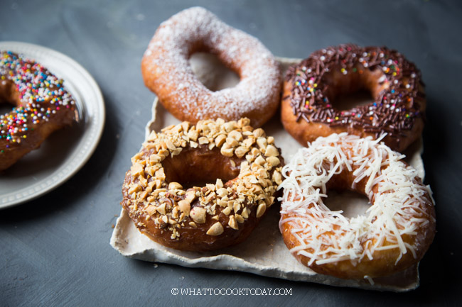 The Best Old-Fashioned Yeast Potato Doughnuts (Donut Kentang)