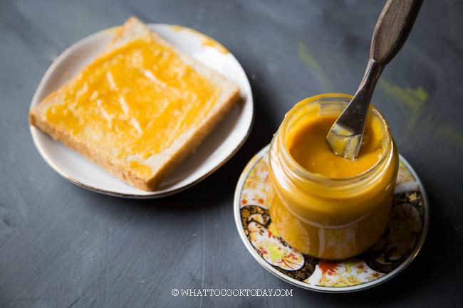 Eggless Kaya Jam (Eggless Vegan Coconut Jam)