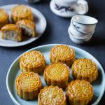 Easy Traditional Baked Mooncakes / Yue Bing (Assorted Fillings)