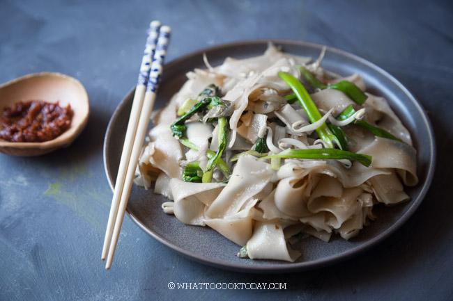 Easy Pek Cha Kwetiau / Kwetiau Goreng Polos (Plain Char Kway Teow)