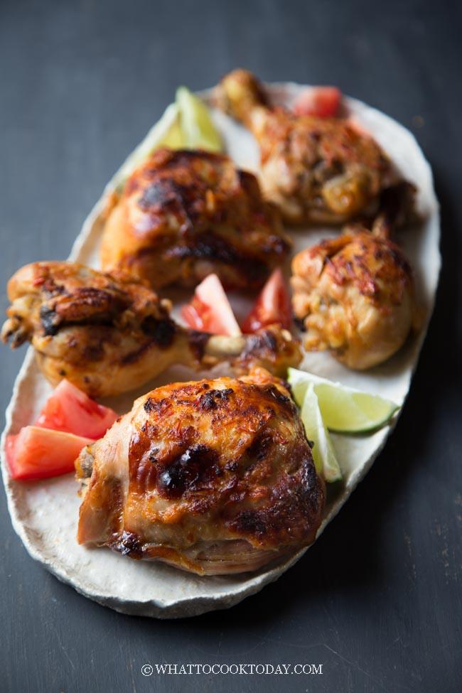 Easy Delicious Ayam Bakar Taliwang (Lombok Grilled Chicken)