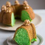 Easy Eggless Pandan Coconut Oil Pound Cake (So Good!)