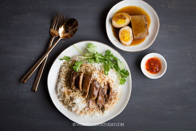 Singapore Teochew Braised Duck (Lor Ark)