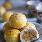 Tau Sar Piah / Tambun Biscuits / Mung Bean Pastry (Sweet Savory Version)