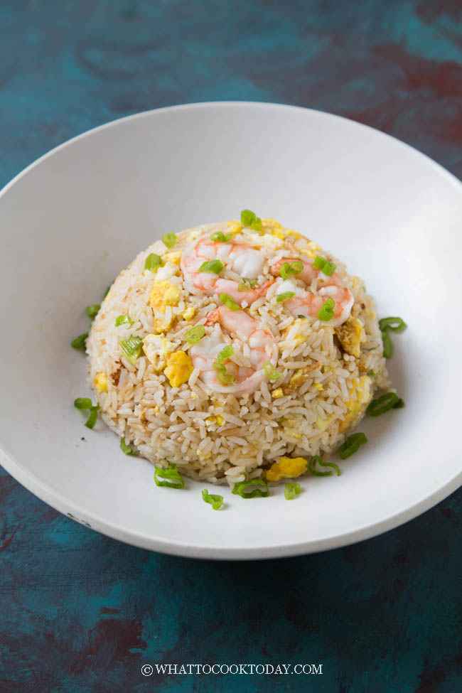Easy Din Tai Fung Shrimp and Egg Fried Rice