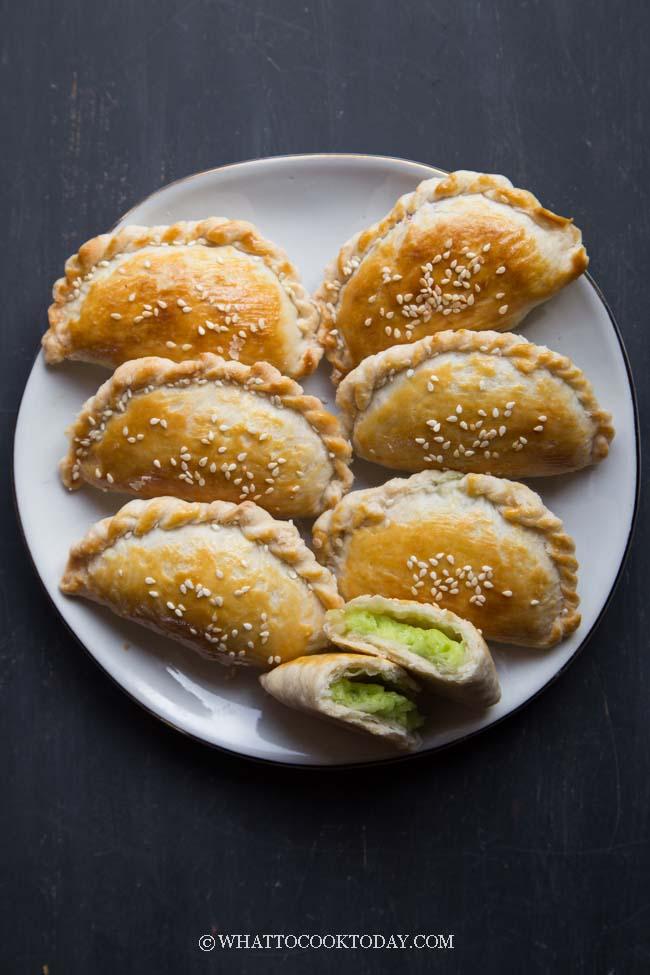 Baked Kaya Puff Pastry (Kaya Kok / 咖椰角)