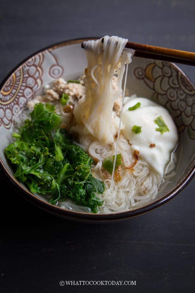 How To Cook Mee Suah Noodle Soup (Wheat/Flour Vermicelli)