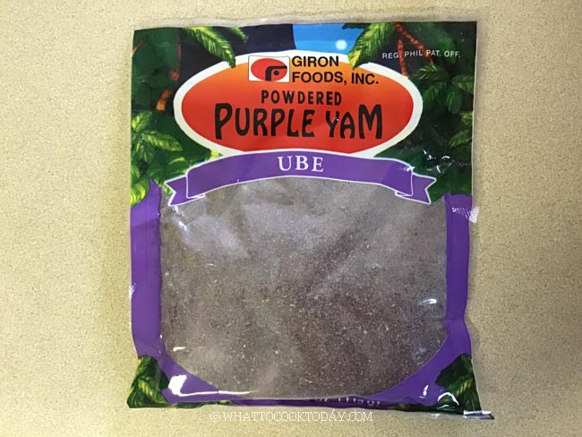 How to Rehydrate/Reconstitute Ube Powder