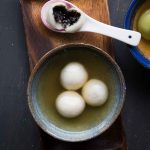 Easy Tang Yuan with Black Sesame Filling (Healthier version)