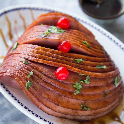 Instant Pot Spiral Ham with Char Siu Glaze