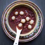 Sweet Red Bean Soup Tang Yuan (Tong Sui)