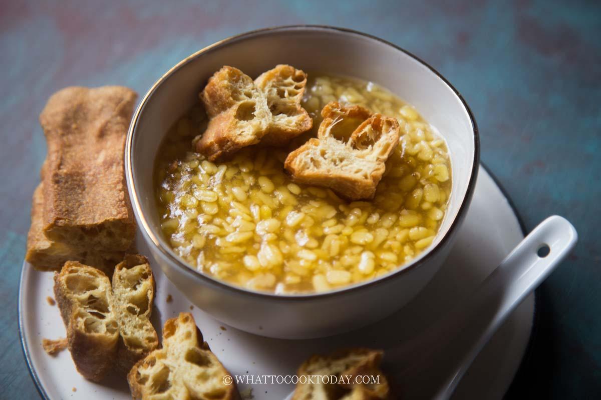 Easy Tau Suan / Lek Tau Suan (Split Mung Bean Dessert)