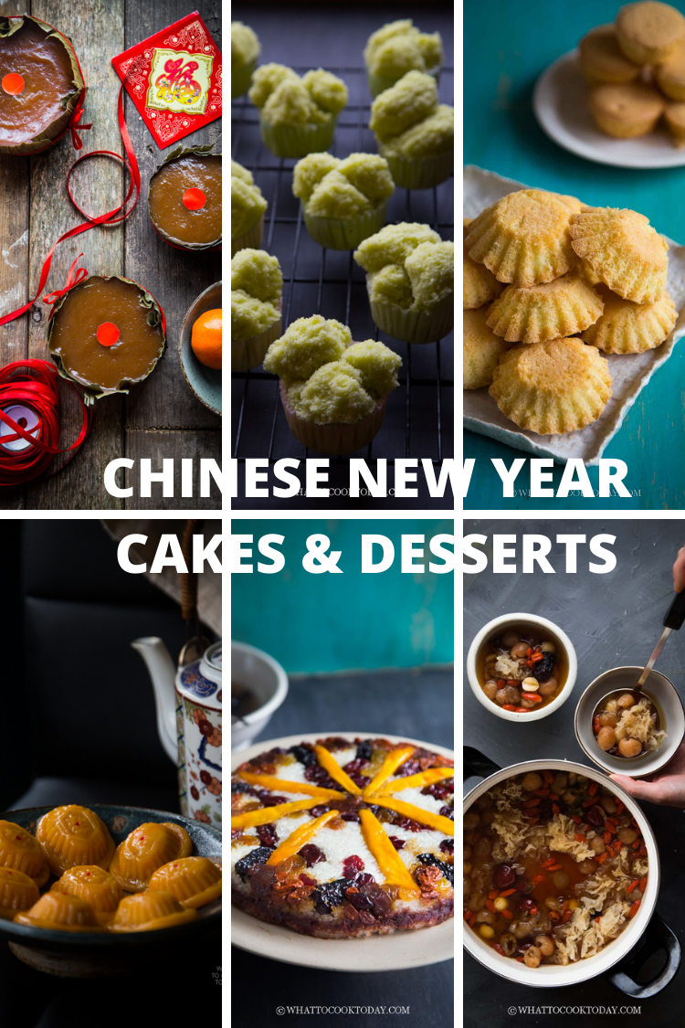 Chinese New Year Cakes and Desserts Recipes