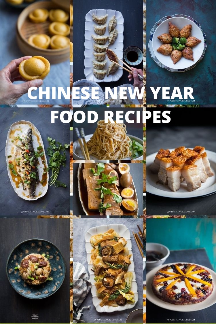 Chinese New Year Food Recipes (Menu Planning)