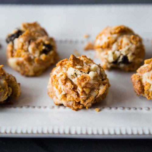 Easy Cornflakes Butter Cookies (Eggless)