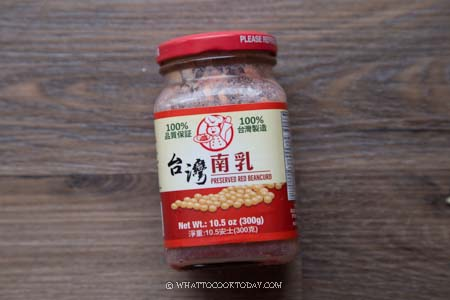 Fermented red bean curd (nam yu)