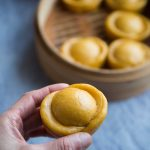 Chinese Gold Ingot Steamed Buns (Jin Yuanbao Baozi)
