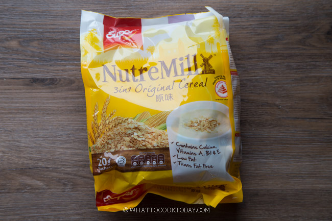Nutremill 3 in 1 cereal