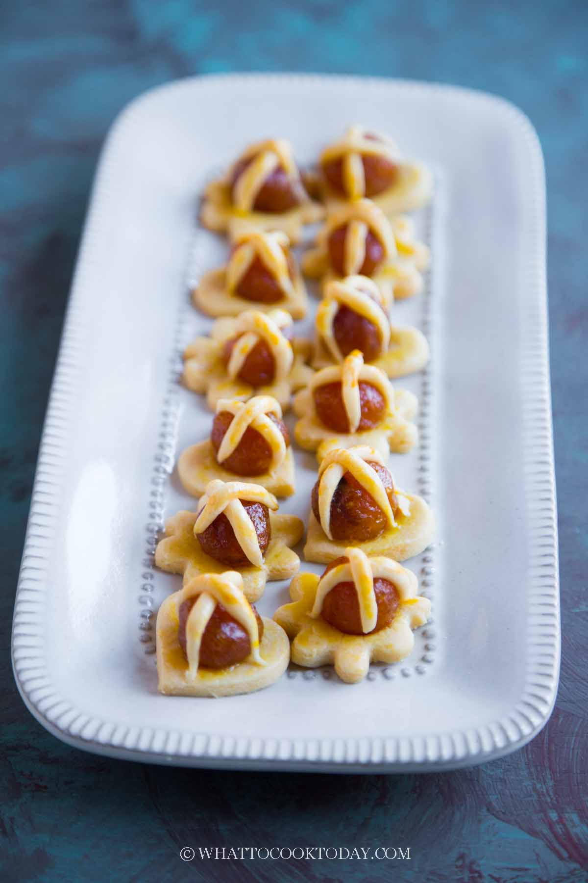 Open-Faced Pineapple Tarts (for Chinese New Year)