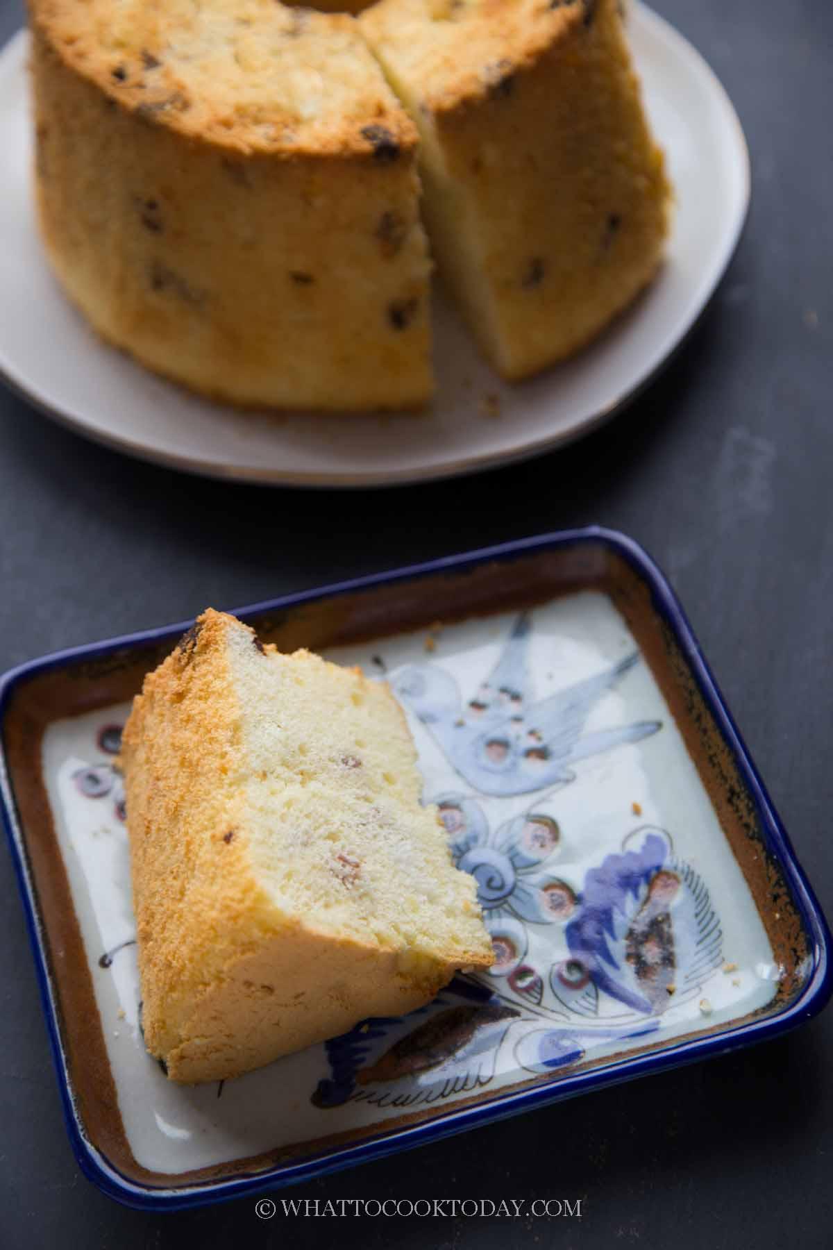 Soft Fluffy Bak Kwa / Pork Jerky Chiffon Cake