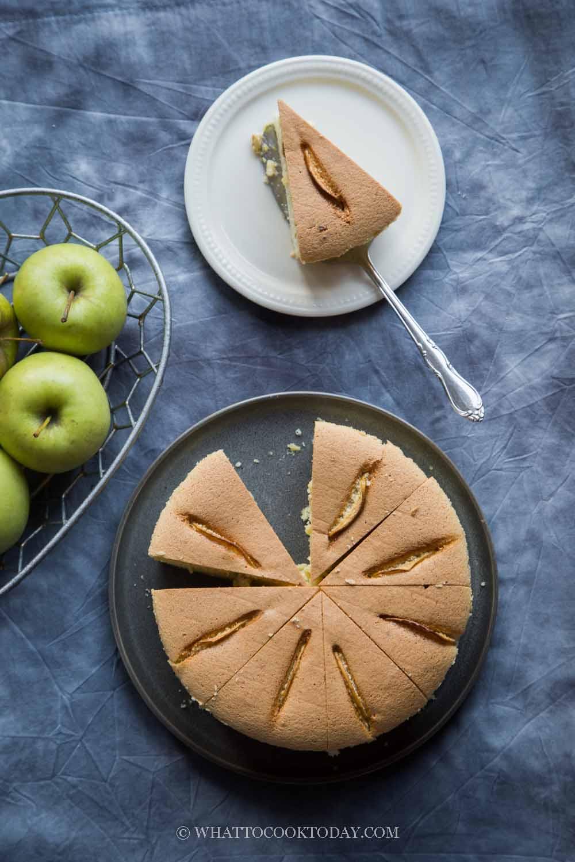 Soft and Fluffy Gluten-Free Apple Sponge Cake