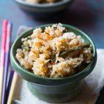 Long Bean Rice / Tau Kok Fan (豆角饭) - Rice Cooker or Instant Pot